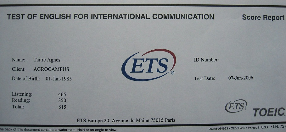 ets exam dates